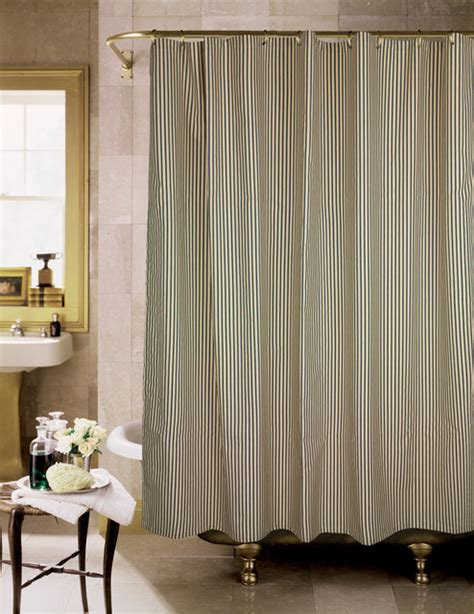 black and tan curtains sorrento black and tan stripe shower curtain