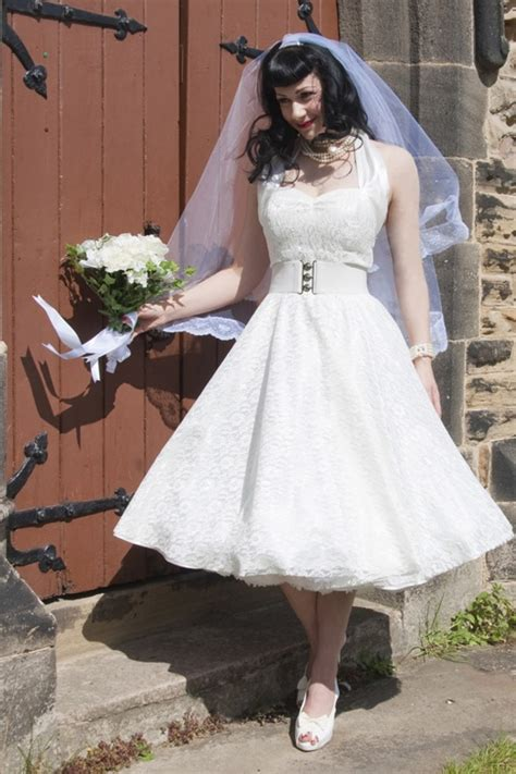 white swing dress wedding exclusive limited collection this wonderful 1950s halter