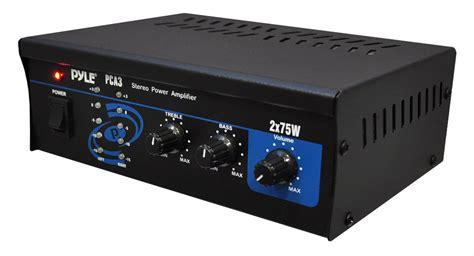 amazoncom home audio power amplifier system xw mini