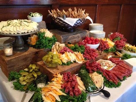A display of Antipasta has been the perfect appetizer for