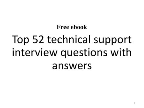 help desk questions and answers technical pdf top 52 technical support questions and answers pdf