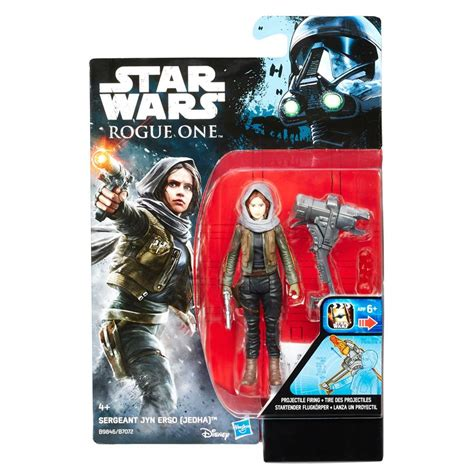 Wars Rogue One 3 75 Sergeant Jyn Erso Eadu Figure New 1 wave two of hasbro s 3 75 rogue one figures revealed the wars underworld
