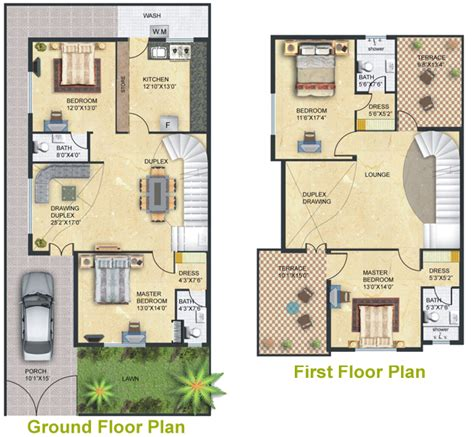 Home Layout Design As Per Vastu by Sachdev Buildcon Salasar Greens Individual Bungalow