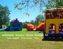 local bounce house rentals az water slides rentals phoenix inflatable water slide and bounce house rentals az