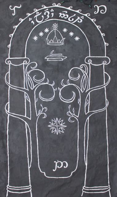Door To Moria by Cation Designs The Doors Of Durin Lord Of Moria