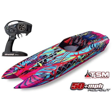 rc boat decals for sale traxxas 57046 4 dcb m41 brushless catamaran rc boat w tsm
