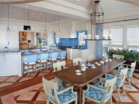 coastal bath and kitchen coastal kitchen and dining room pictures hgtv