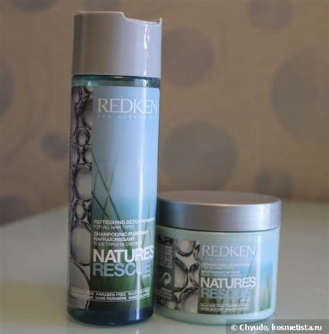 Detox Redken by Redken Nature S Rescue Refreshing Detox Shoo Cooling