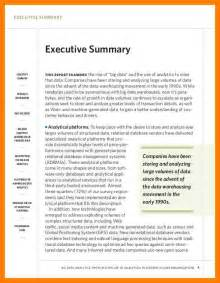 Management Summary Exle by 6 Exle Of Executive Summary Bibliography Formated