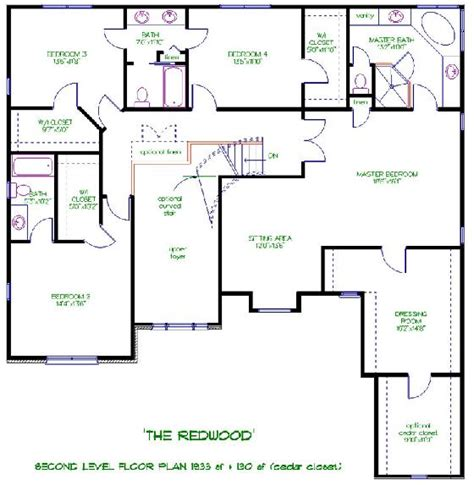 upstairs floor plans custom home builders johnson building arbor mi 48108