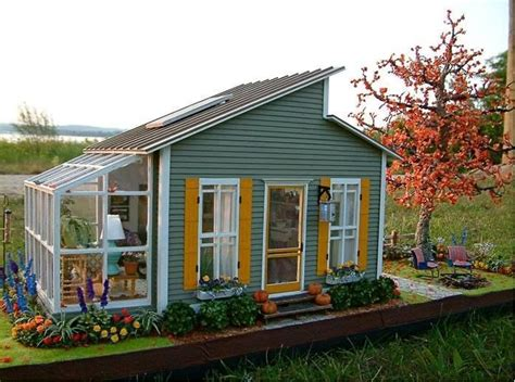 small cute houses cute little house shed with greenhouse tiny homes and