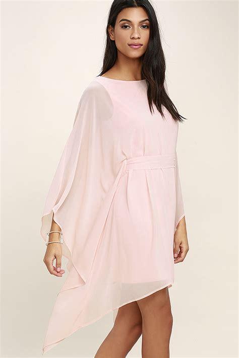 Dress Kaftan Dusty Pink lovely blush pink dress kaftan dress belted dress 57 00