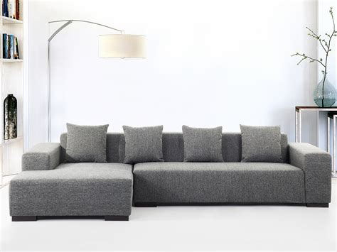 Living Room Corner Sofa Sofa Lounge Corner Sofa 5 Seater Upholstered Living Room Right Grey