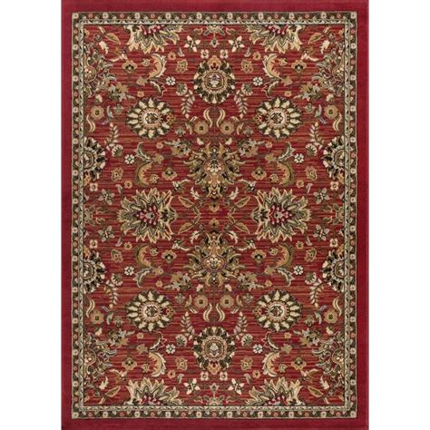 Lowes Area Rugs 5x7 Shop Tayse Laguna Rectangular Indoor Machine Made Area Rug Common 5 X 7 Actual 5 Ft W X