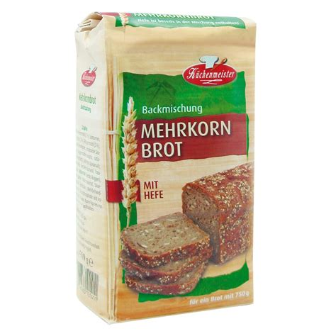 Multigrain Mix 1 Kg k 220 chenmeister bread mix quot multigrain bread quot 15 pieces