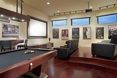 sala de juegos en casa cine en casa para los amantes del s 233 ptimo arte