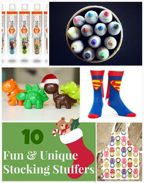 fun stocking stuffers 10 fun and unique stocking stuffer ideas