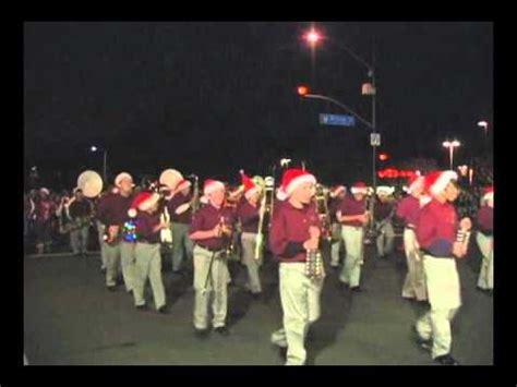 christmas in redlands ca redlands ca parade dec 4 2010 part 3 santa holidays marching band float