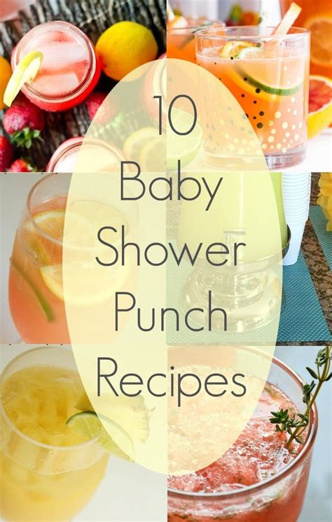 Blue Punch Recipe Baby Shower by Baby Shower Drinks 183 The Typical