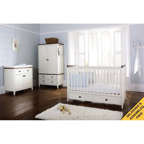 Silver Cross Nursery Furniture Sets Silver Cross Porterhouse Nursery Furniture Set
