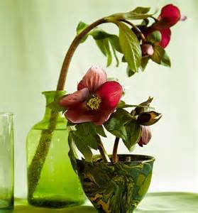 Flower Arrangement In Vase A Spring Arrangement Inspired By An Art Nouveau Drawing Wsj