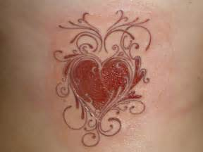 cool tattoo zone heart tattoo designs gallery