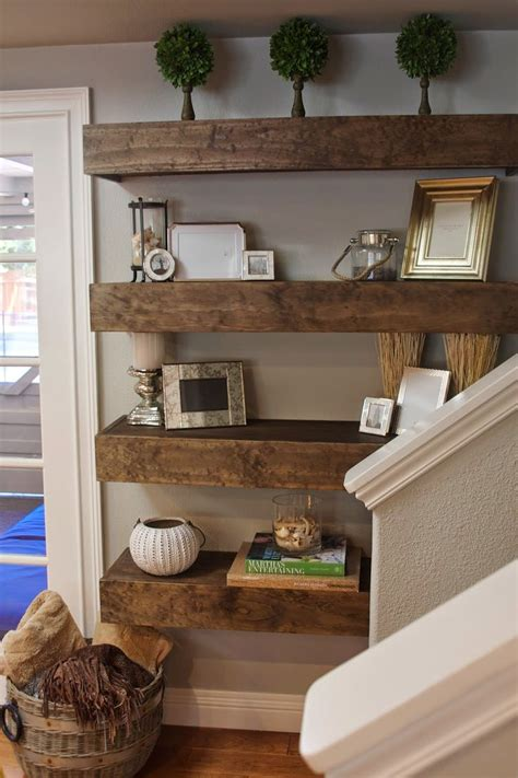 wall shelves decorating ideas simple diy floating shelves tutorial decor ideas for the home diy home decor floating