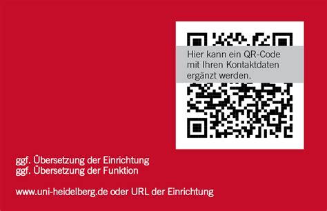 Visitenkarten Telefonnummer Schreibweise by Visitenkarten Service Universit 228 T Heidelberg