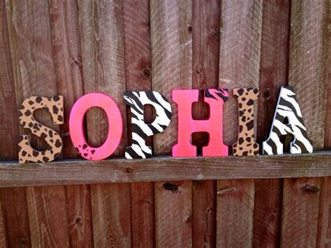 Room Letters Decor 17 best ideas about hanging wall letters on shabby chic baby nursery decor and