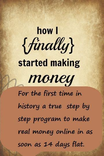 Make Actual Money Online - for the first time in history a true step by step program