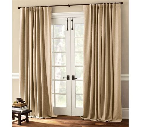 drapery panels for sliding glass doors 44 best curtains for french doors images on pinterest