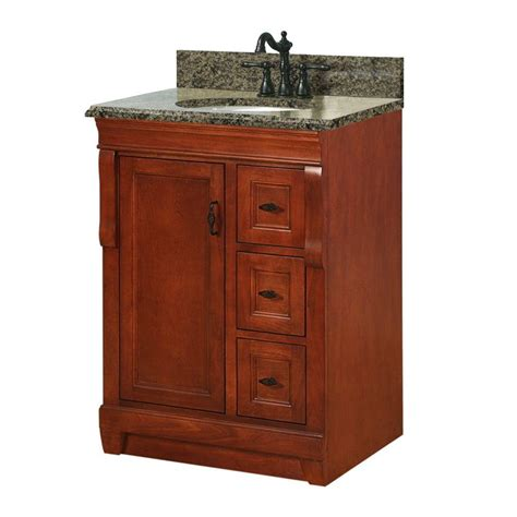 Foremost Bathroom Vanity by Foremost Naples 25 In W X 22 In D Bath Vanity In Warm