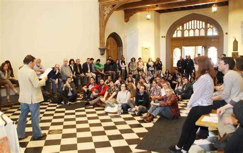 film studies queen s university belfast queen s university students hold teach in protest the