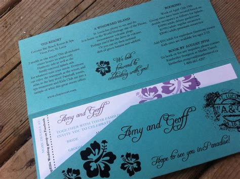 canadian destination wedding invitations destination wedding invitation boarding pass wedding