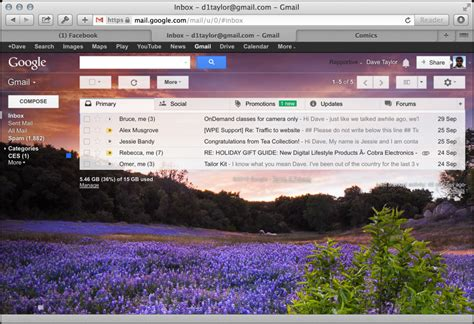 new themes for gmail background how do i install a custom gmail wallpaper photograph or