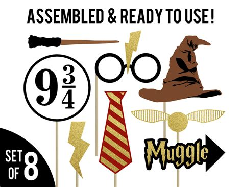 printable harry potter photo booth props harry potter photo booth props harry potter birthday