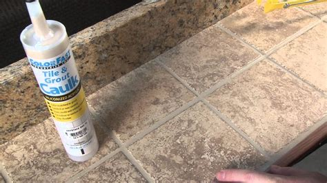 color fast colorfast tile and grout caulking