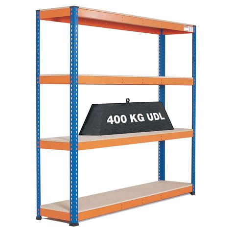 heavy duty warehouse shelving 4 level bay gt warehouse