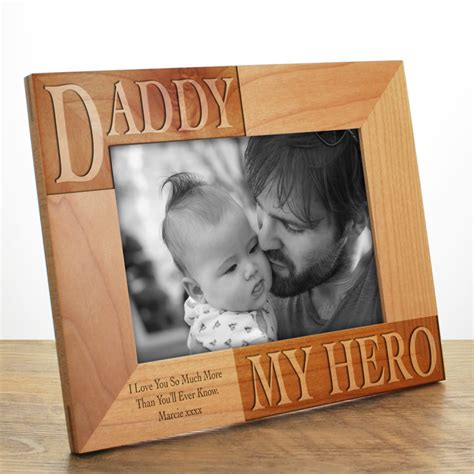 Alised Daddy Photo  Ee  Frame Ee   Engraved Next Day Delivery