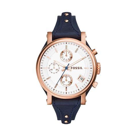 Jam Tangan Fossil Es 3838 jual fossil es3838 jam tangan wanita navy harga