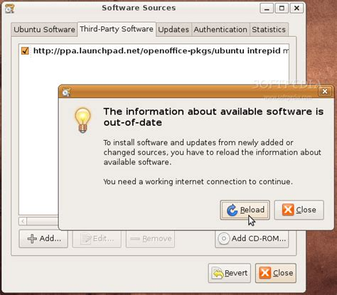 how to install openoffice on ubuntu how to install openoffice org 3 0 on ubuntu 8 10