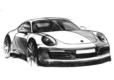 Porsche 911 Sketches by Porsche Sketch