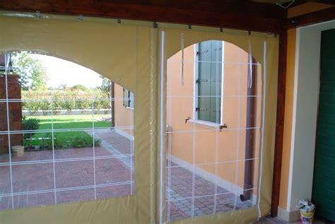 teli in pvc per verande teli in pvc per chiusura laterale di pergolati porticati