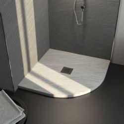 cabine doccia semicircolari piatto doccia in pietra sintetica ardesia 90x90 ad angolo