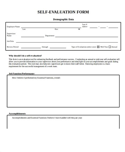 Employee Evaluation Form Exle 13 Free Word Pdf Documents Download Free Premium Templates Microsoft Word Employee Evaluation Template
