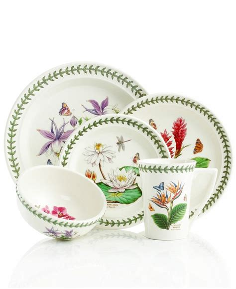 Portmeirion Dinnerware Exotic Botanic Garden Mix And Botanic Garden Dishes Portmeirion