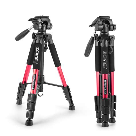 lightweight tripod lightweight tripod zomei portable travel tripod with