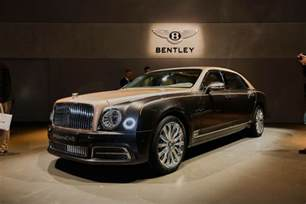The Cost Of A Bentley 2017 Bentley Mulsanne Preview Live Photos And