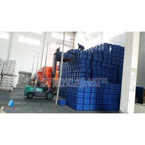 Obeng Dock jual dermaga apung ponton hdpe ponton plastik cube float