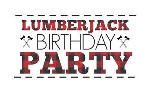 Lumberjack first birthday party simply real moms